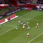 Форвард сборной Польши повторил голевой рекорд отборочных турниров чемпионатов Европы