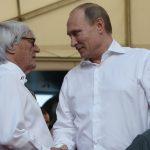 Путин приехал нагонку «Формулы-1» вСочи