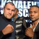 Русский боксер-профессионал Ковалев ведет переговоры опроведении поединка сканадцем Паскалем