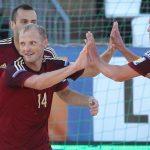 Сборная Российской Федерации попляжному футболу проведет матч сАргентиной втраурных повязках