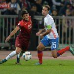 Сборная Российской Федерации сминимальным счетом 1-0 обыграла сборную Португалии