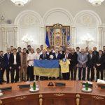 Порошенко устроил превосходный прием сборной государства Украины