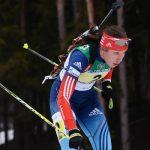 Александр Жирный— 2-ой вспринте напервом этапе Кубка IBU