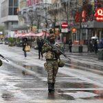 ВБрюсселе продлен наивысший уровень террористической угрозы