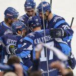 Хоккеисты минского «Динамо» одержали уверенную победу над рижскими одноклубниками