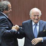 ФИФА убрала Блаттера иПлатини изфутбола на8 лет