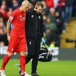 Футболист «Ливерпуля» Мартин Шкртел проинформировал, что пропустит шесть недель из-за травмы