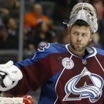 Российский голкипер «Колорадо» Варламов стал первой звездой недели вНХЛ