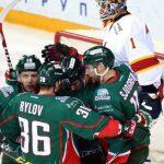 Дубль Свитова принес «АкБарсу» победу над «Йокеритом» вматче КХЛ