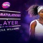 Серена Уильямс признана теннисисткой года поверсии WTA
