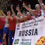 Сборная Российской Федерации поволейболу завоевала путевку наОлимпиаду вРио-де-Жанейро