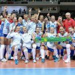 Русские волейболистки победили голландок идобыли путевку наОлимпиаду