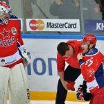 ЦСКА одержал победу десятый матч подряд вКХЛ