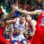 ЦСКА одержали 3-ю победу в«Топ-16»