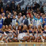 Тренер «Днепра» сыграл вбаскетбол на«Рождественских встречах»