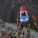Биатлонистка Подчуфарова стала 5-той вспринте вРупольдинге