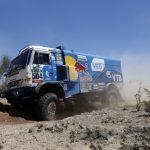 Мардеев поднялся на 2-ое место взачете фургонов после десятого этапа «Дакара»