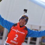 Супруга биатлониста Евгения Гараничева подарила ему лучший новогодний подарок