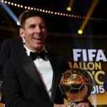 «Золотой мяч»— 2015: Слуцкий иШироков поставили напервое место Месси