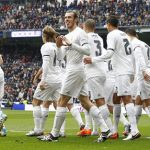 «Реал» забил 5 голов за 1-ый тайм