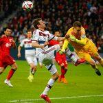 «Байер» и«Бавария» сыграли вничью вматче чемпионата Германии