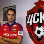 Роман Широков заключил сЦСКА договор доконца сезона