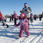 8февраля стартует запись научастие вгонке «Лыжня России»