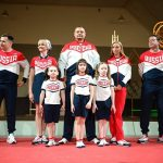 Хоркина, Навка иБуре представили олимпийскую форму
