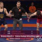 Начемпионате Европы погреко-римской борьбе уукраинцев две медали