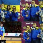 Украинские борцы выиграли три медали чемпионата Европы