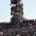 На16-тысячном стадионе вНигерии уместилось 40 тысяч человек