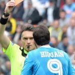 Лидер «Наполи» дисквалифицирован на 4 матча