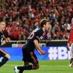 «Бенфика» и«Бавария» несумели выявить победителя