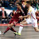 Испания разгромила РФ вфинале чемпионата Европы пофутзалу