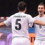 Сборная Казахстана завоевала бронзу начемпионате Европы помини-футболу