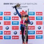 Чешская биатлонистка Соукалова преждевременно выиграла общий зачет Кубка мира