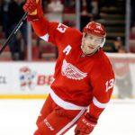 Хоккеист «Детройта» Дацюк вызван всборнуюРФ для подготовки кЧМ