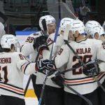 «Амур» прервал серию поражений вКХЛ, победив «Адмирал»