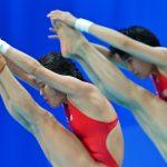 Илья Захаров одержал победу «золото» Мировой серии всинхронных прыжках