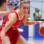 Женская сборная Российской Федерации одержала четвёртую победу подряд вотборе наЕвробаскет