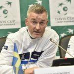 Русская сборная потеннису одолела команду Швеции вигре наКубок Дэвиса