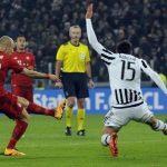 «Ювентус» вырвал ничью с«Баварией» впервом матче плей-офф Лиги чемпионов