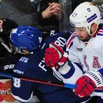 СКА уступает московскому «Динамо» вовтором матче серии плей-офф
