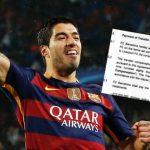 Суарес обошелся «Барселоне» в82млневро