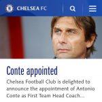 Тренер Конте подписывает договор с«Челси»