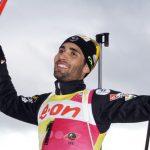 Фуркад одержал победу гонку преследования наЧМ побиатлону