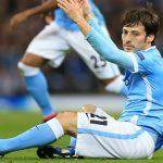Футболист «Манчестер Сити» Давид Сильва выбыл изстроя на2