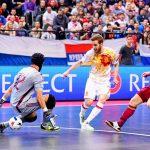 Казахстан проиграл Испании вполуфинале чемпионата Европы помини-футболу