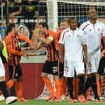 «Шахтер» и«Севилья» сыграли вничью вматче полуфинала Лиги Европы