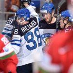 Финляндия уверенно переигрывает Беларусь наЧМ-2016 похоккею